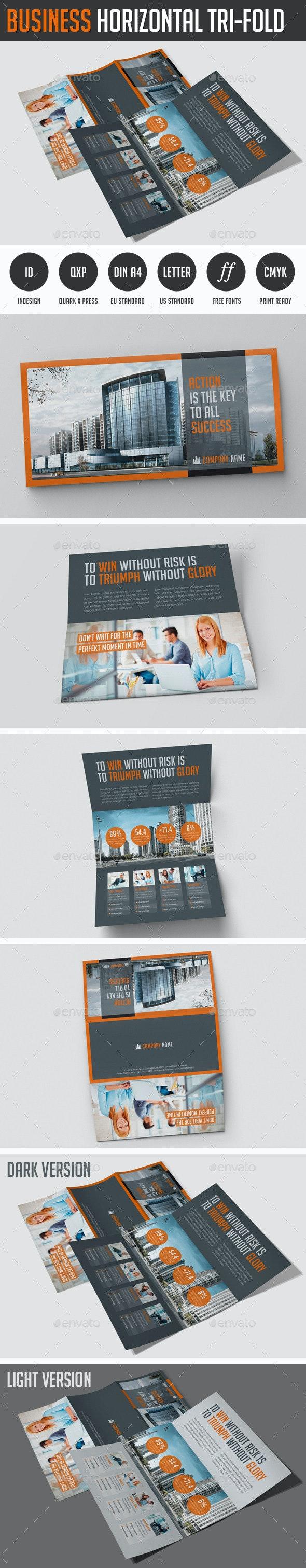 Business Horizontal Flyer - Corporate Brochures