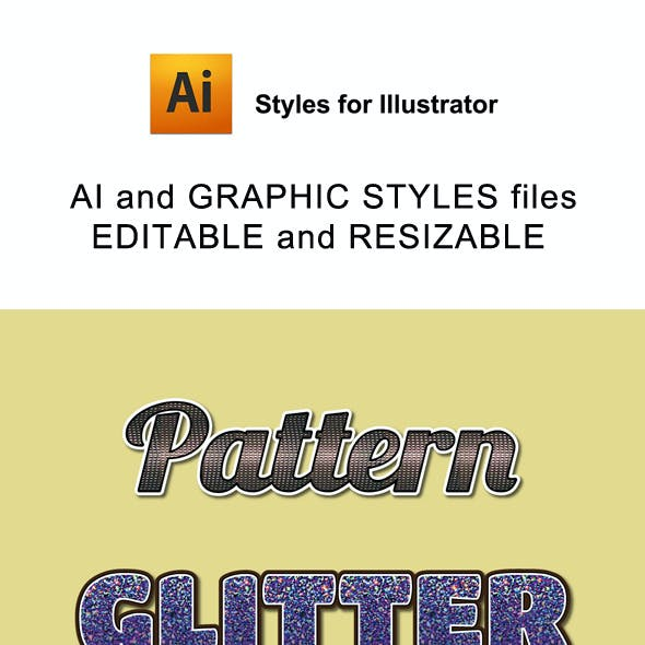 Pattern Graphic Style for Ai