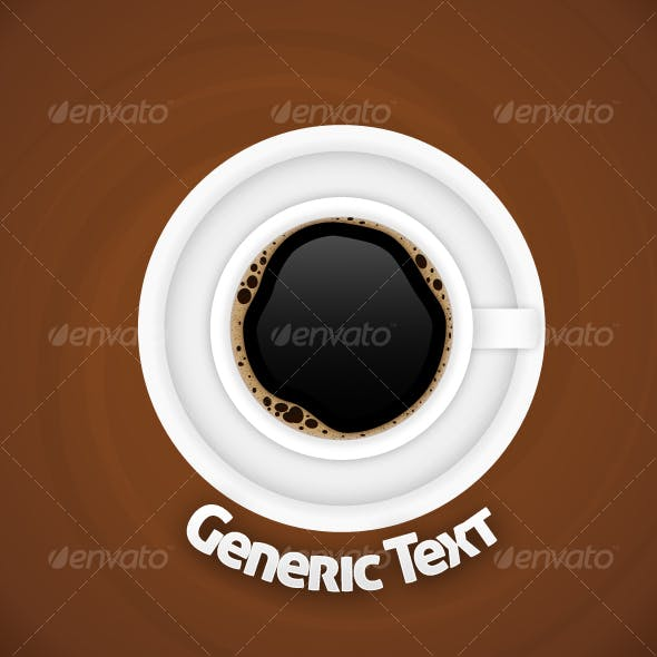 Coffee Cup on Plate