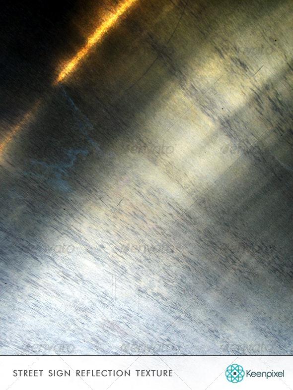 Street Sign Reflection Texture - Industrial / Grunge Textures