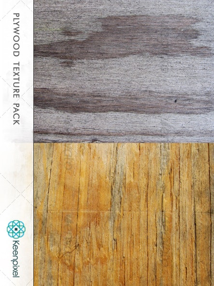 Plywood Texture Pack - Wood Textures