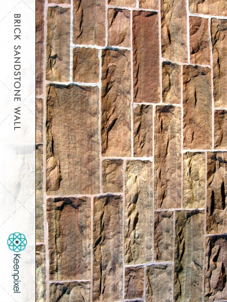 Brick Sandstone Wall - Stone Textures