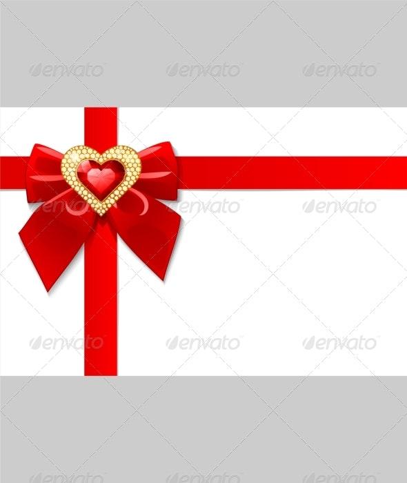 Valentine day greeting card - Valentines Seasons/Holidays