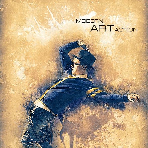 Modern Art Action