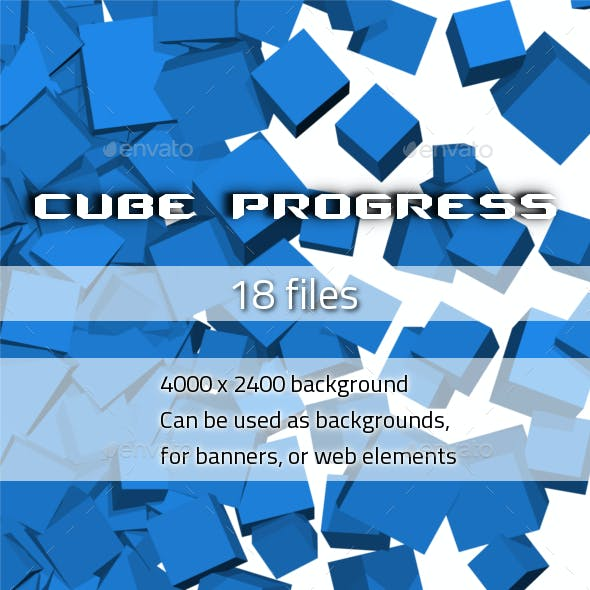 Cubes Background 2