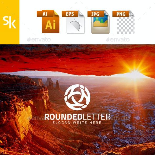 Rounded Letter Logo