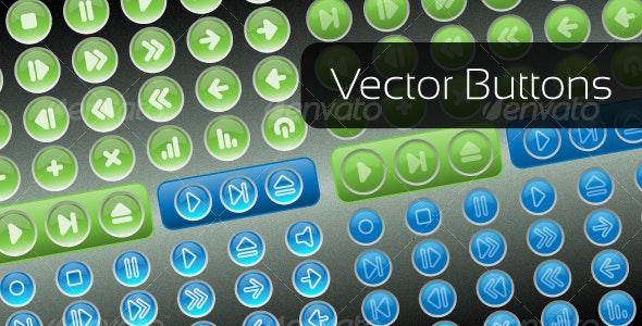 Vector Buttons - Web Technology