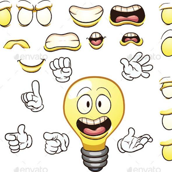 Cartoon Lightbulb