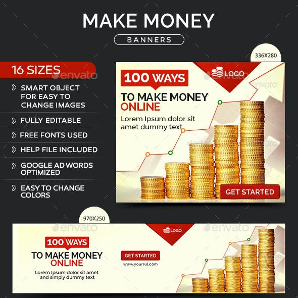 Make Money Online Banners