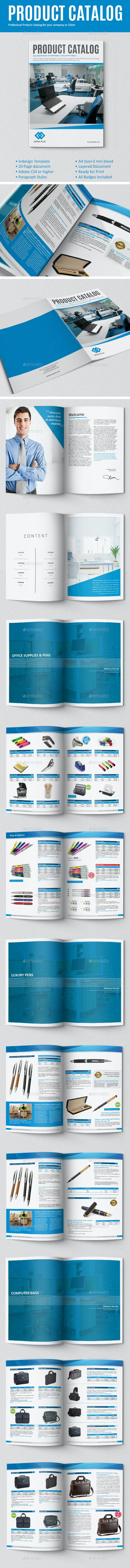 Product Catalog - Brochures Print Templates