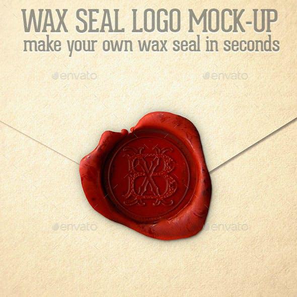WaxSeal Logo Mockup