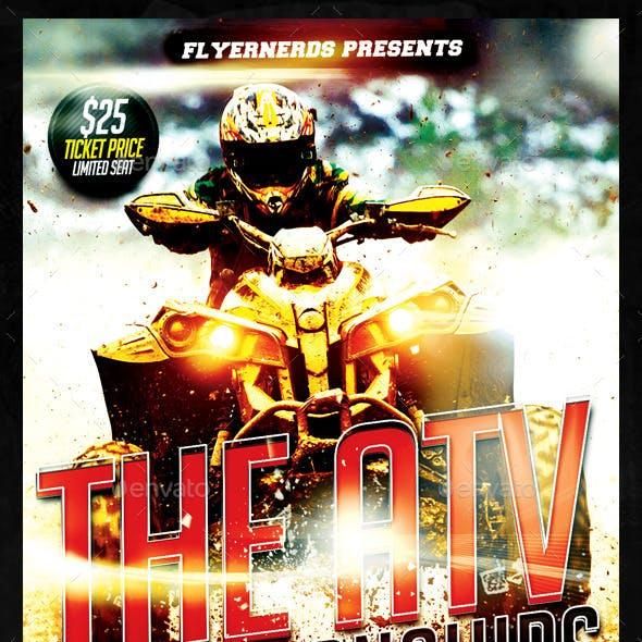 The ATV Championships Sports Flyer