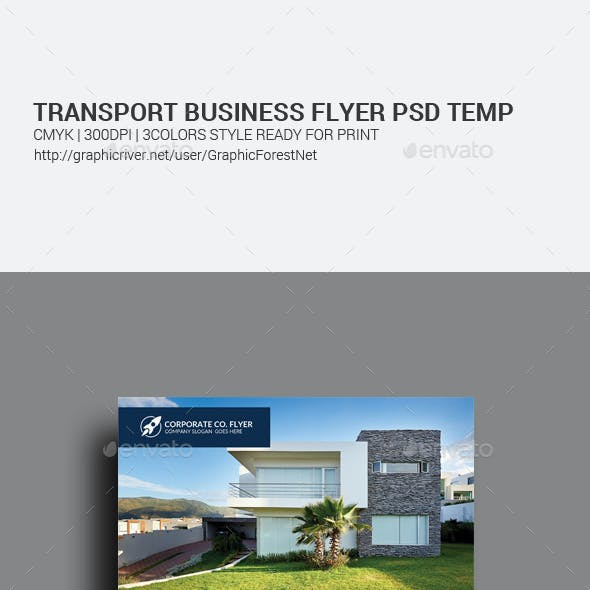 Real Estate Agency Business Flyer Template