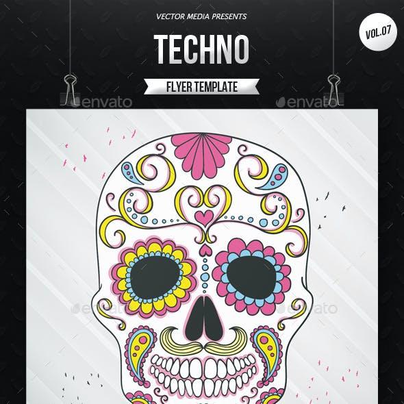 Techno - Flyer [Vol.7]