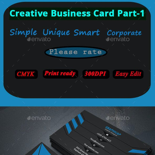 Corporate Business Card Part-1