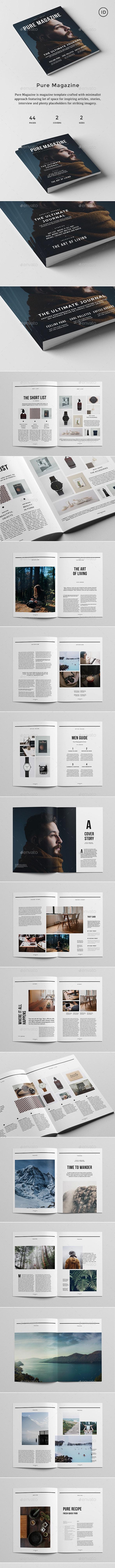 Pure Magazine - Magazines Print Templates
