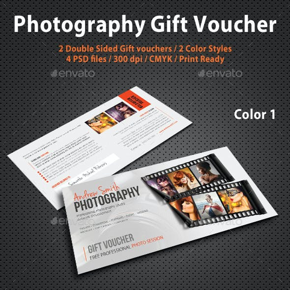 Photography Studio Gift Voucher 08