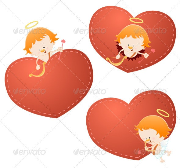 Cupid Set - People Characters