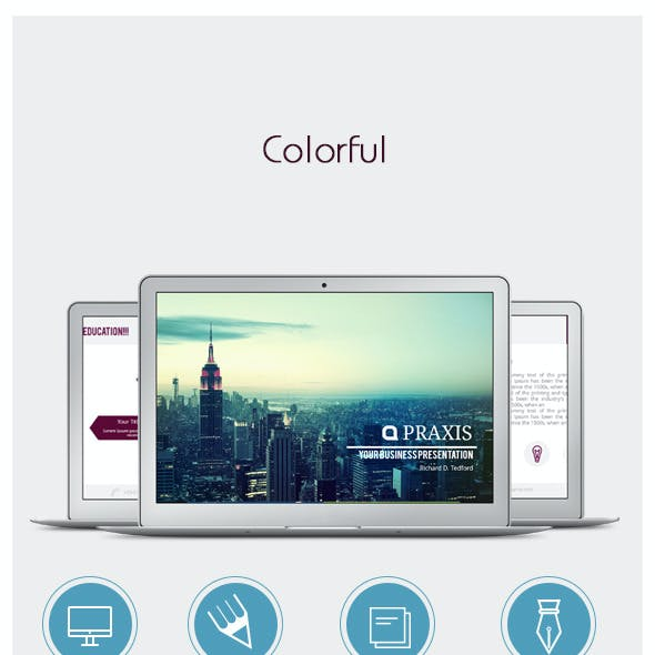 Colorful - Powerpoint Presentation Template