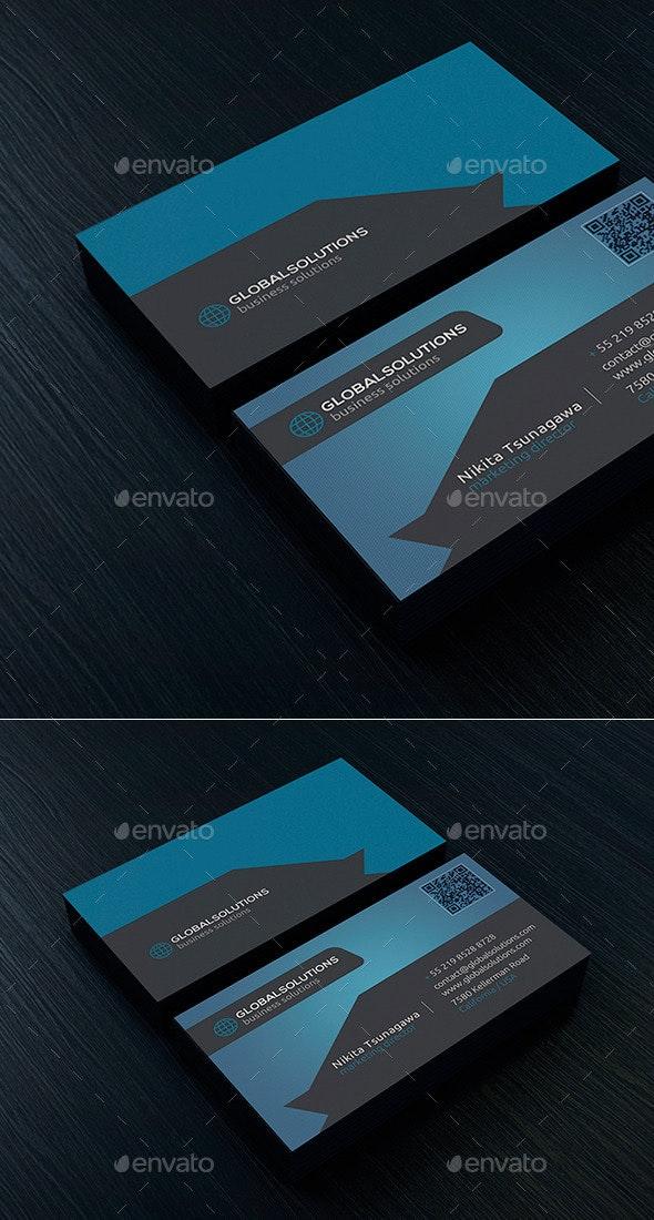 Corporate Business Card 17 - Corporate Business Cards