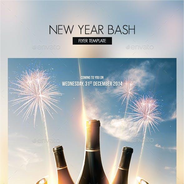 New Year Bash Flyer