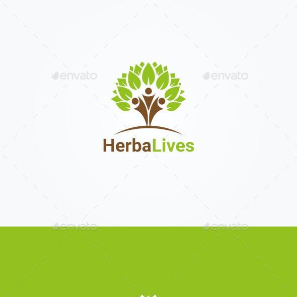 Herbal Lives Logo