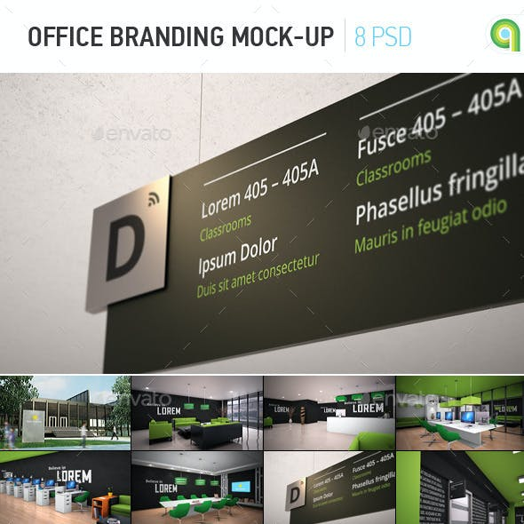 Office Branding Mock-up