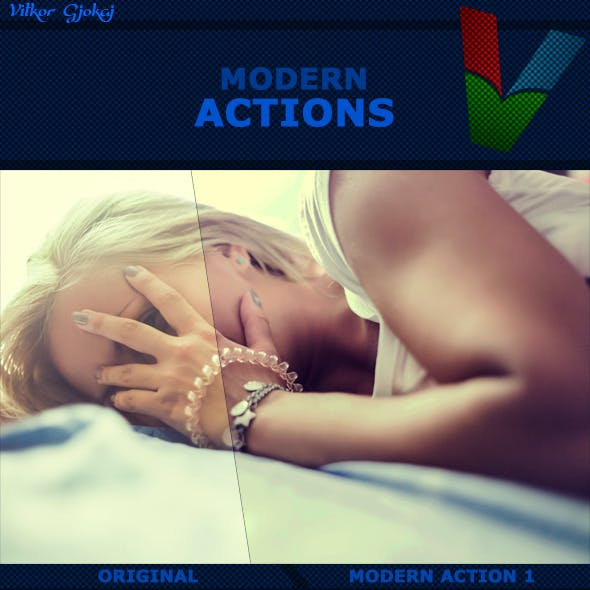 Modern Photoshop Actions