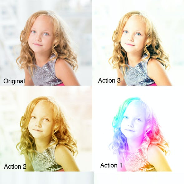 Colorizing Actions
