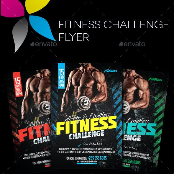Challenge Graphics, Designs & Templates from GraphicRiver