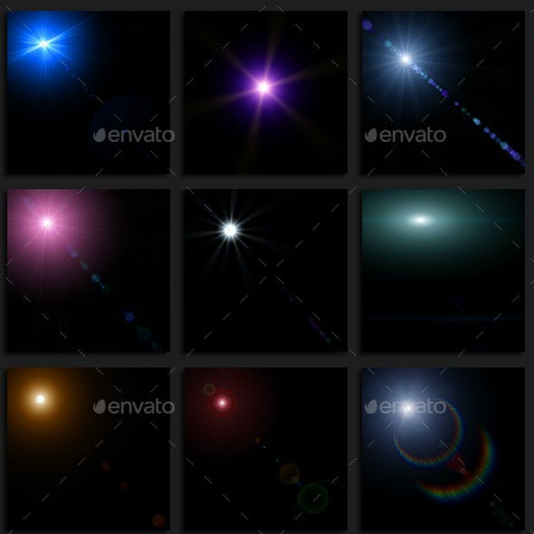 Optical and Lens Flares Pack