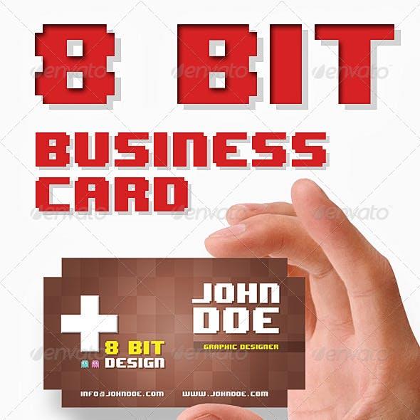8 Bit Business Card