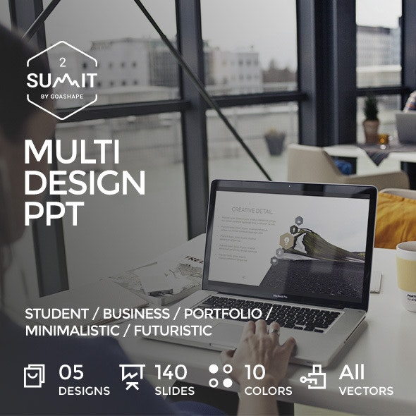 Summit 2 - Multi Design PowerPoint Template - Creative PowerPoint Templates