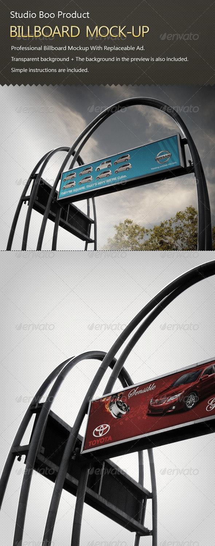 Billboard Mock Up - Signage Print