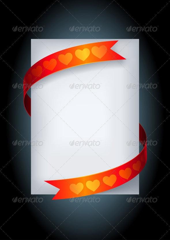 Love Message Paper - Valentines Seasons/Holidays