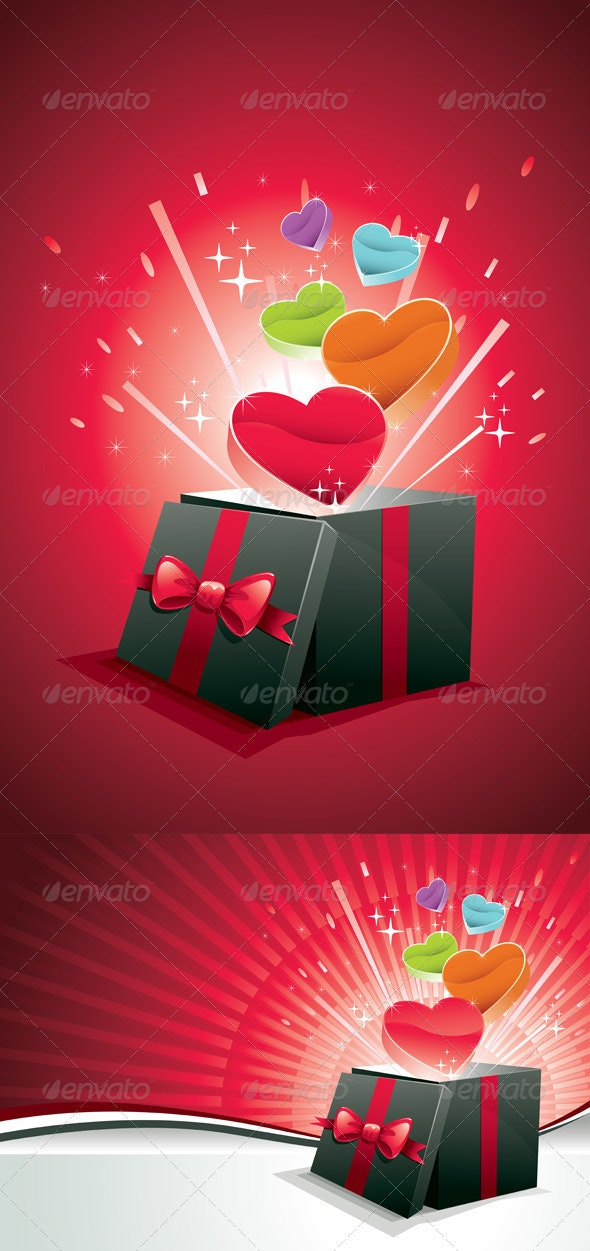 Exploding Love Box - Valentines Seasons/Holidays