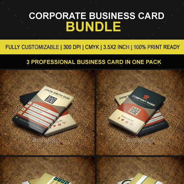 Creative Business Cards Bundle 08