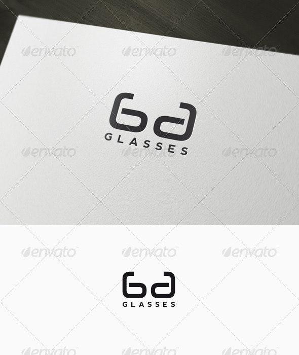 Glasses - Lenses Logo - Letters Logo Templates