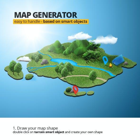 Easy Map Generator