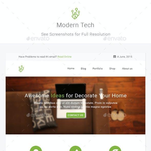 Modern Tech - Modern Business E-newsletter