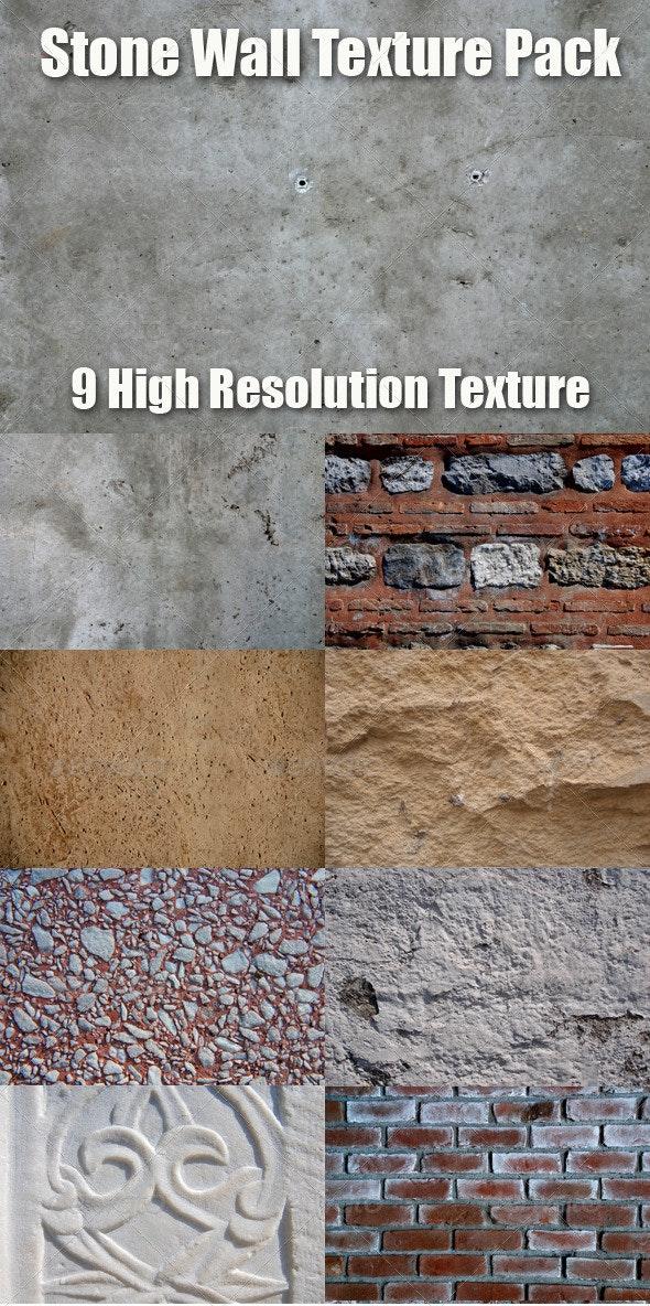 Stone and Concrete Texture Pack - Concrete Textures