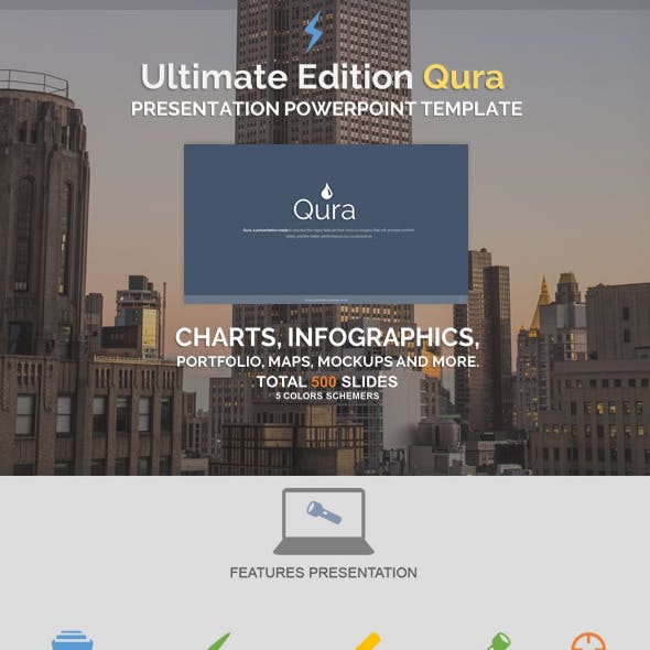 Ultimate Edition Qura - Powerpoint Template