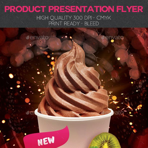 Product Presentation Flyer Template