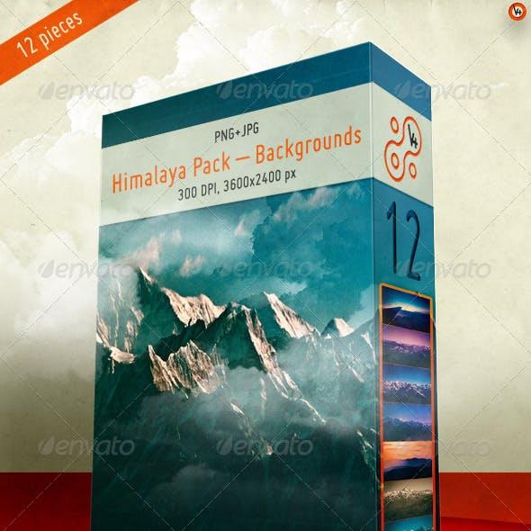Himalaya Pack – Backgrounds