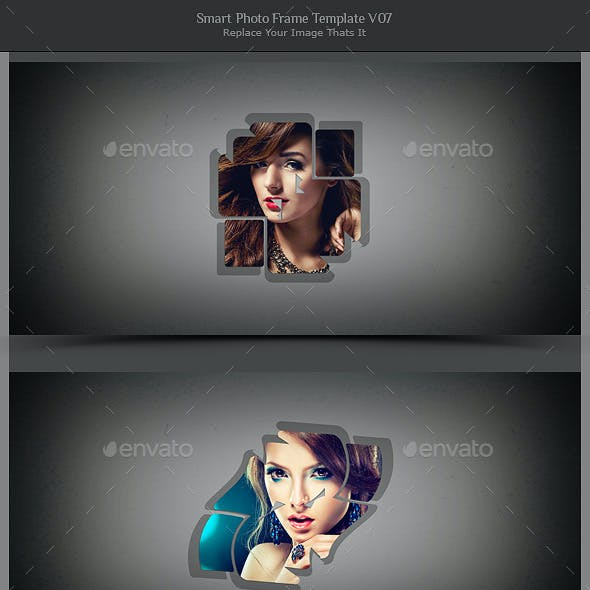Smart Photo Frame Template V07