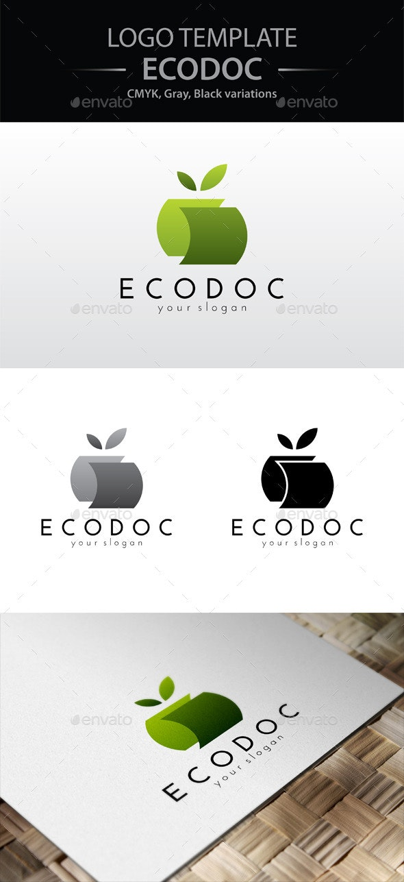 Eco Doc Logo - Nature Logo Templates
