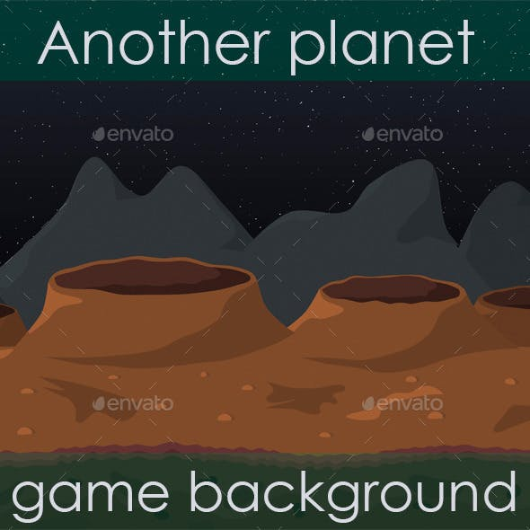 Another Planet Game Background