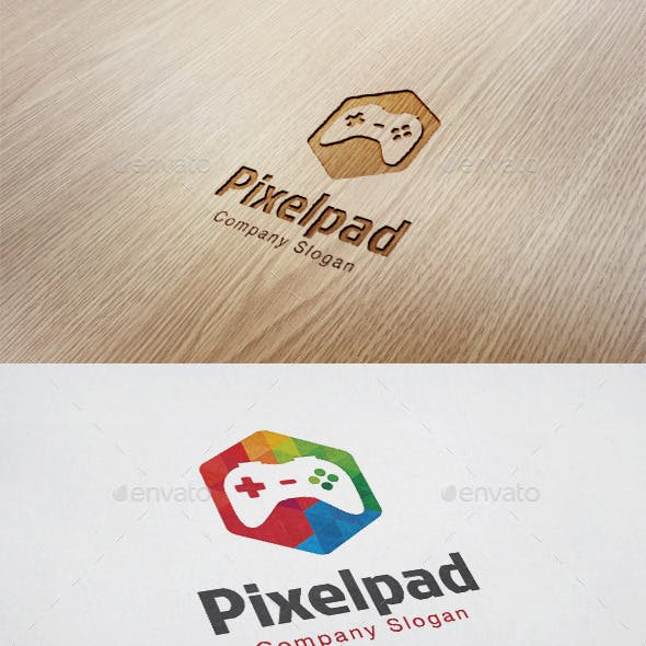 Pixel Pad Logo