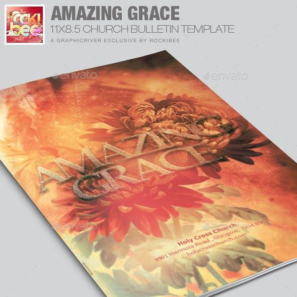 Grace Church  Bulletin Template