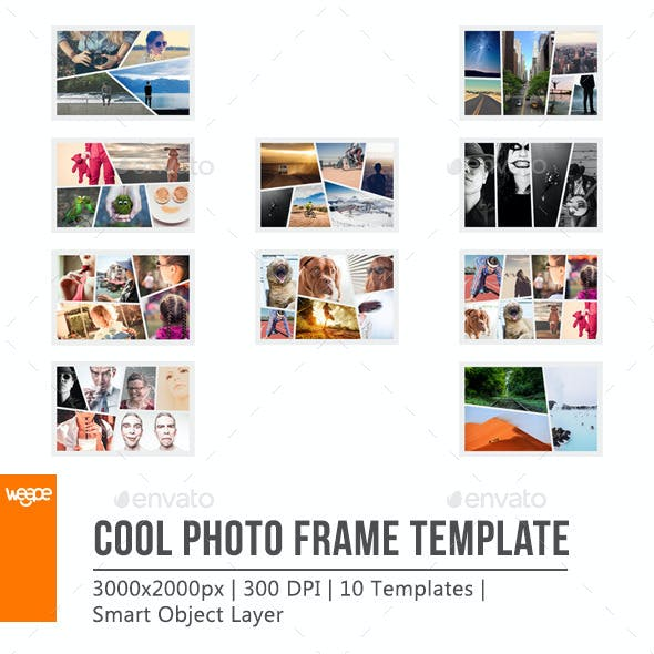 Cool Photo Frame Template